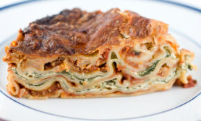 Vegetarian Lasagna With Ricotta Cheese And Spinach Filling – Recipes Vegetarian Lasagna Spinach