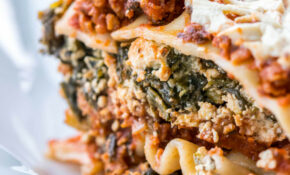Vegetarian Lasagna With Ricotta Cheese And Spinach – Vegetarian Recipes With Ricotta Cheese