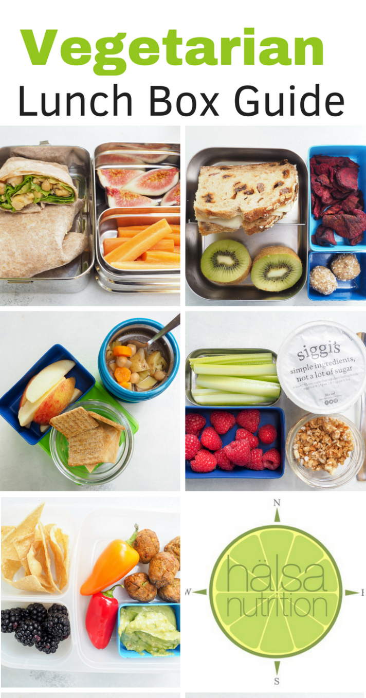 Vegetarian Lunch Box Guide - Hälsa Nutrition - recipes vegetarian lunch