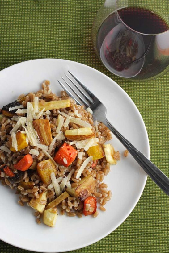 Vegetarian Main Dishes, Roasted Root Vegetables And ..