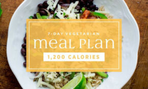 Vegetarian Meal Plan: 10,10 Calories | EatingWell – Recipes Menu Vegetarian