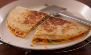 Vegetarian Mexican Quesadilla Recipe By Archana's Kitchen – Mexican Recipes Vegetarian