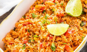 Vegetarian Mexican Rice – Cook With Manali – Vegetarian Rice Recipes Main Dish