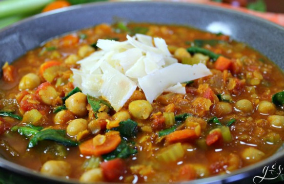 Vegetarian Moroccan Chickpea Stew | Grounded & Surrounded - recipes of chickpeas vegetarian