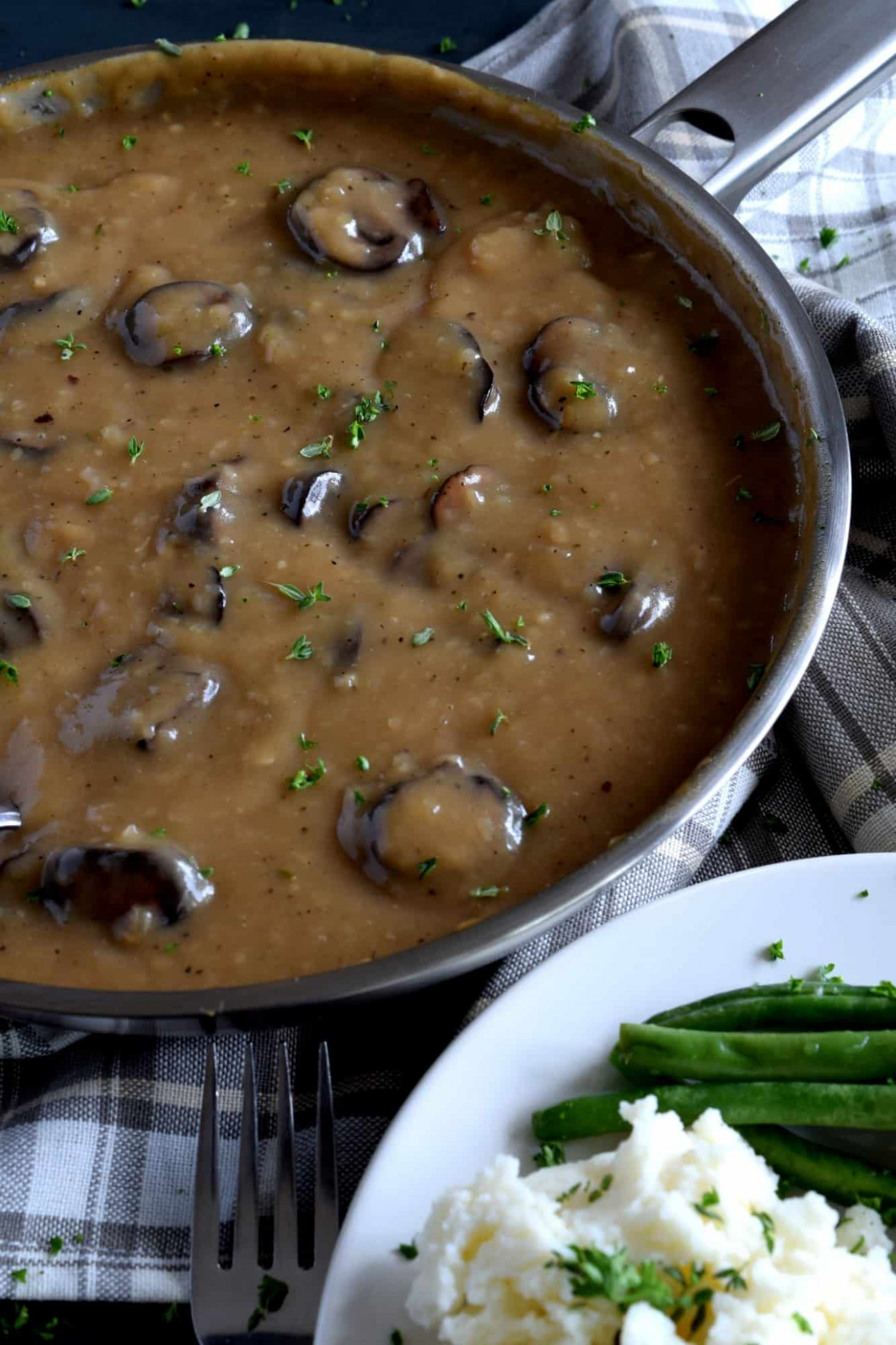 Vegetarian Mushroom Gravy - recipes vegetarian gravy