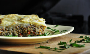Vegetarian Mushroom Moussaka – With Vegan Version – Recipes Main Course Vegetarian