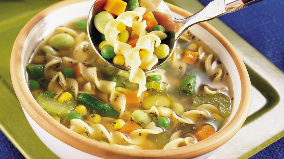 Vegetarian Noodle Soup recipe from Pillsbury