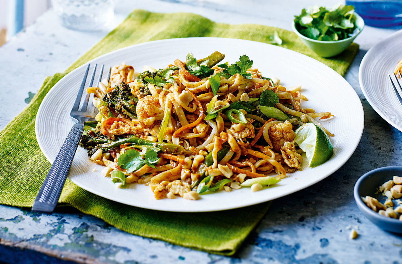Vegetarian pad Thai | Tesco Real Food - tesco recipes vegetarian