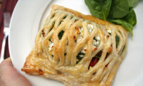 Vegetarian Pastry Parcels With Roast Vegetables And Goat Cheese – Recipes Using Filo Pastry Vegetarian