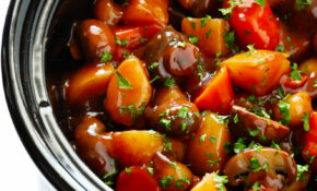 Vegetarian Portobello Pot Roast – Recipes For Slow Cooker Vegetarian