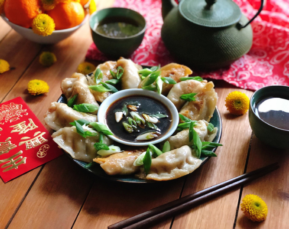 Vegetarian Potstickers for Chinese New Year! - Adriana's ..