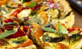 Vegetarian Quiche - a recipe with wholemeal pastry | HubPages