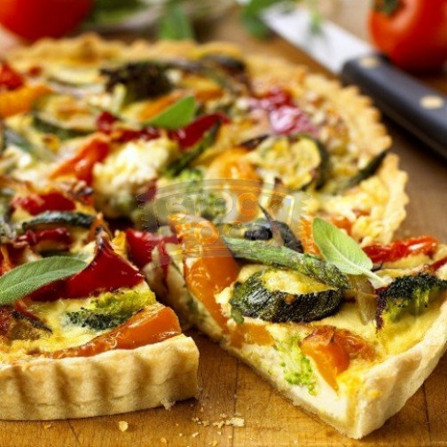 Vegetarian Quiche - a recipe with wholemeal pastry | HubPages - quiche recipes vegetarian