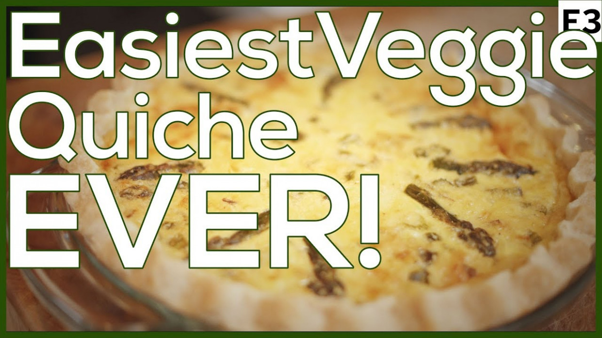 Vegetarian Quiche Recipe with Asparagus: Easy Weeknight Dinner - quiche recipes dinner