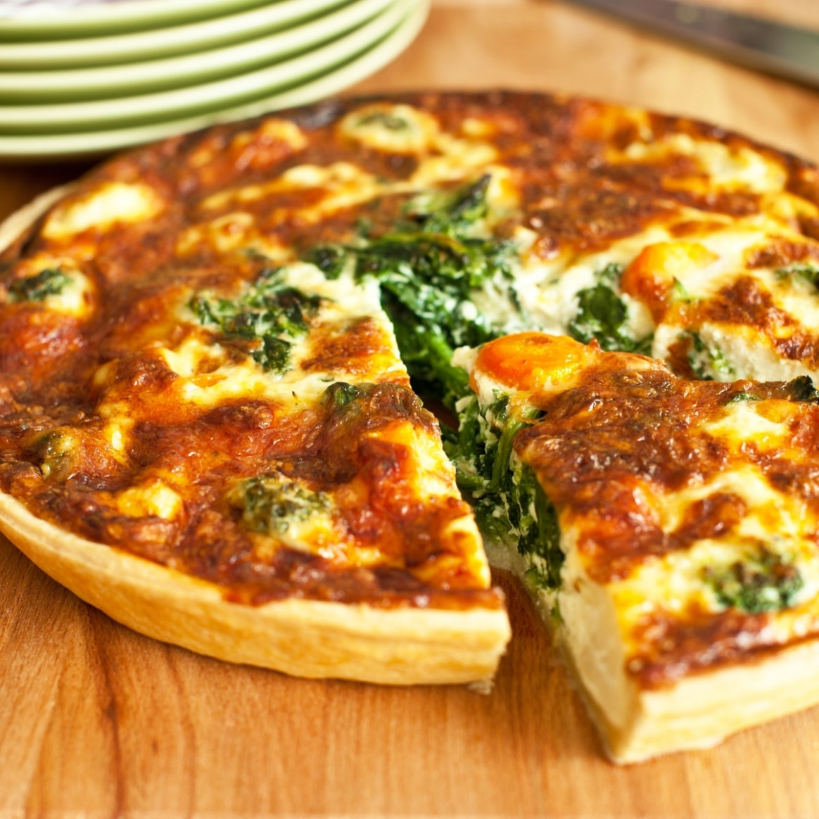 Vegetarian Quiche - recipes vegetarian quick
