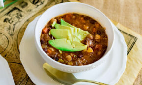 Vegetarian Quinoa Chili – Sed Bona – Recipe Vegetarian Quinoa Chili