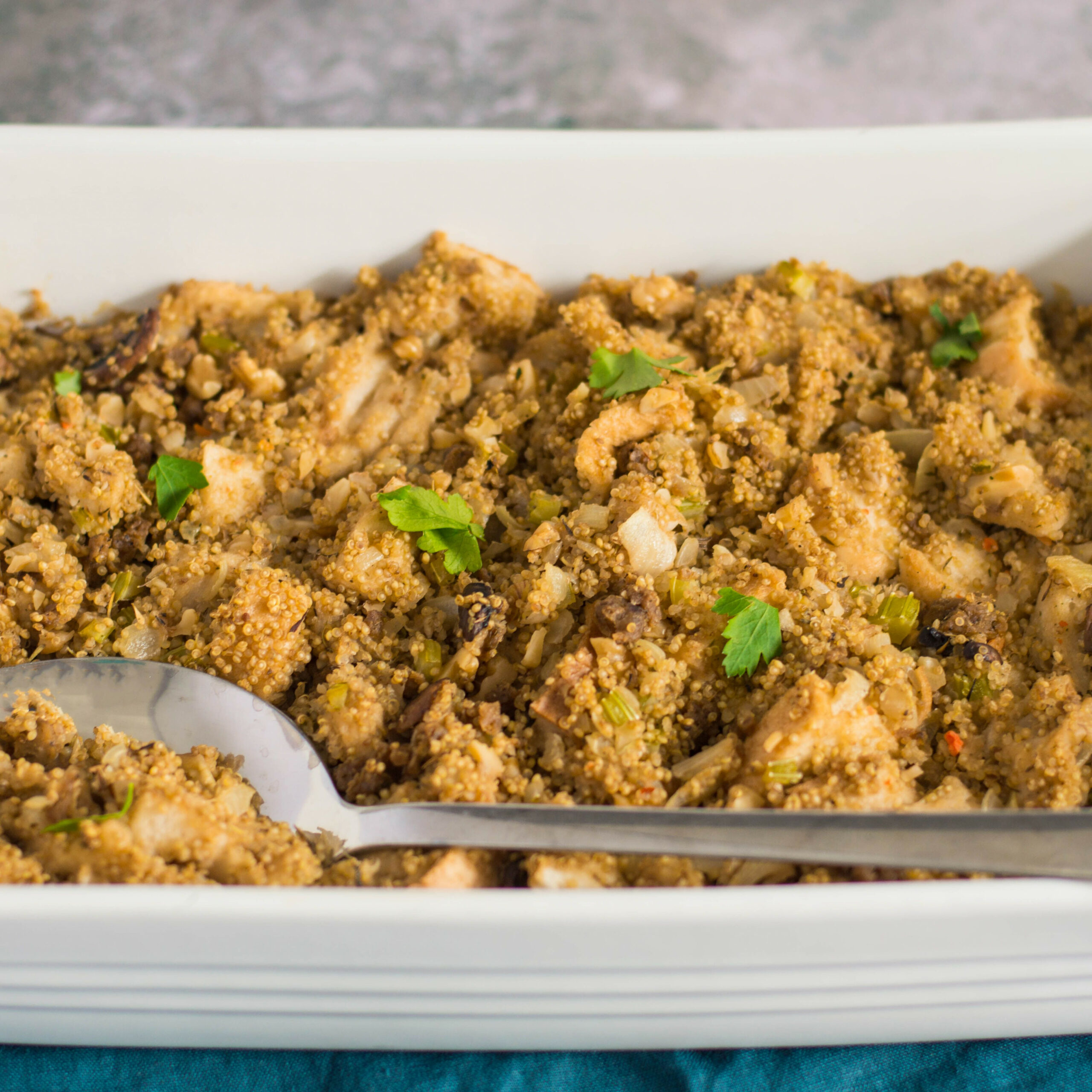 Vegetarian Quinoa Stuffing - recipe vegetarian quinoa stuffing