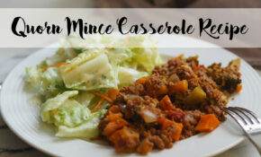Vegetarian Quorn Mince Casserole Recipe – Eat.Love