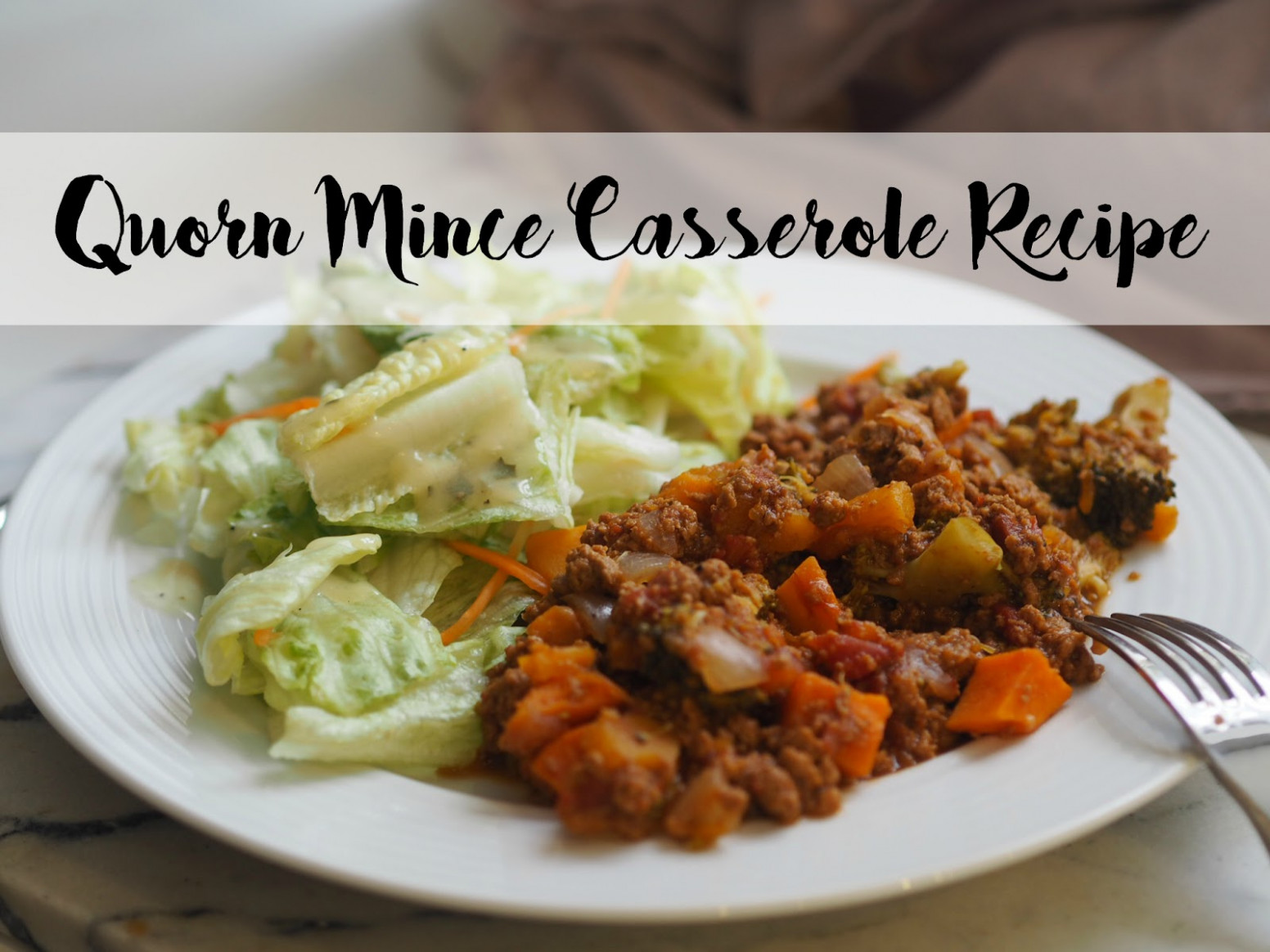 Vegetarian Quorn Mince Casserole Recipe - Eat.Love