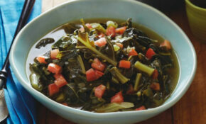 "Vegetarian ""Southern Style"" Collard Greens Recipe 