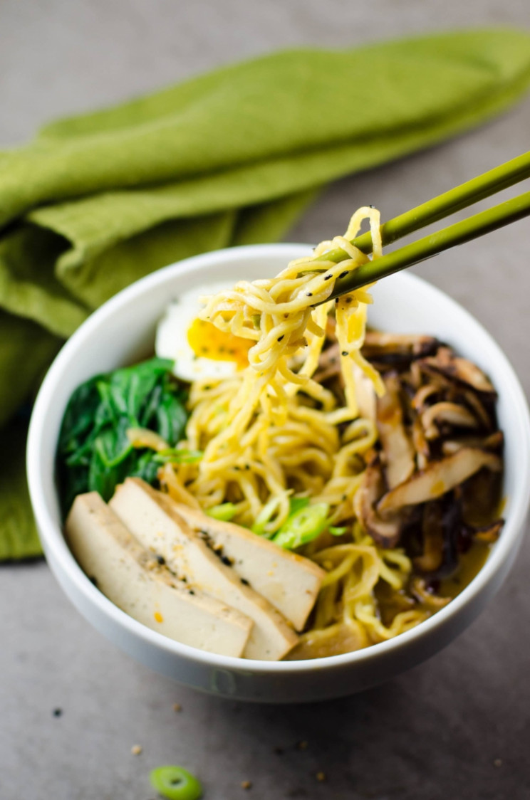 Vegetarian Ramen Soup Recipe - Ramen Recipes Vegetarian