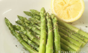 Vegetarian Recipe: Blanched Asparagus With Grape Seed Oil ..