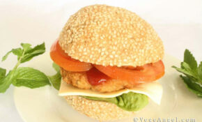 Vegetarian Recipe: Hamburger Buns | Vege Angel – Recipe Vegetarian Hamburger