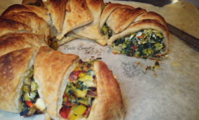 Vegetarian Recipes for Christmas: Mediterranean Puff Pastry ...