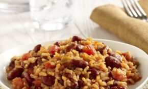 Vegetarian Red Beans and Rice | Ready Set Eat