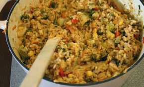 Vegetarian Risotto Recipe | A Little Change – Recipe Vegetarian Risotto