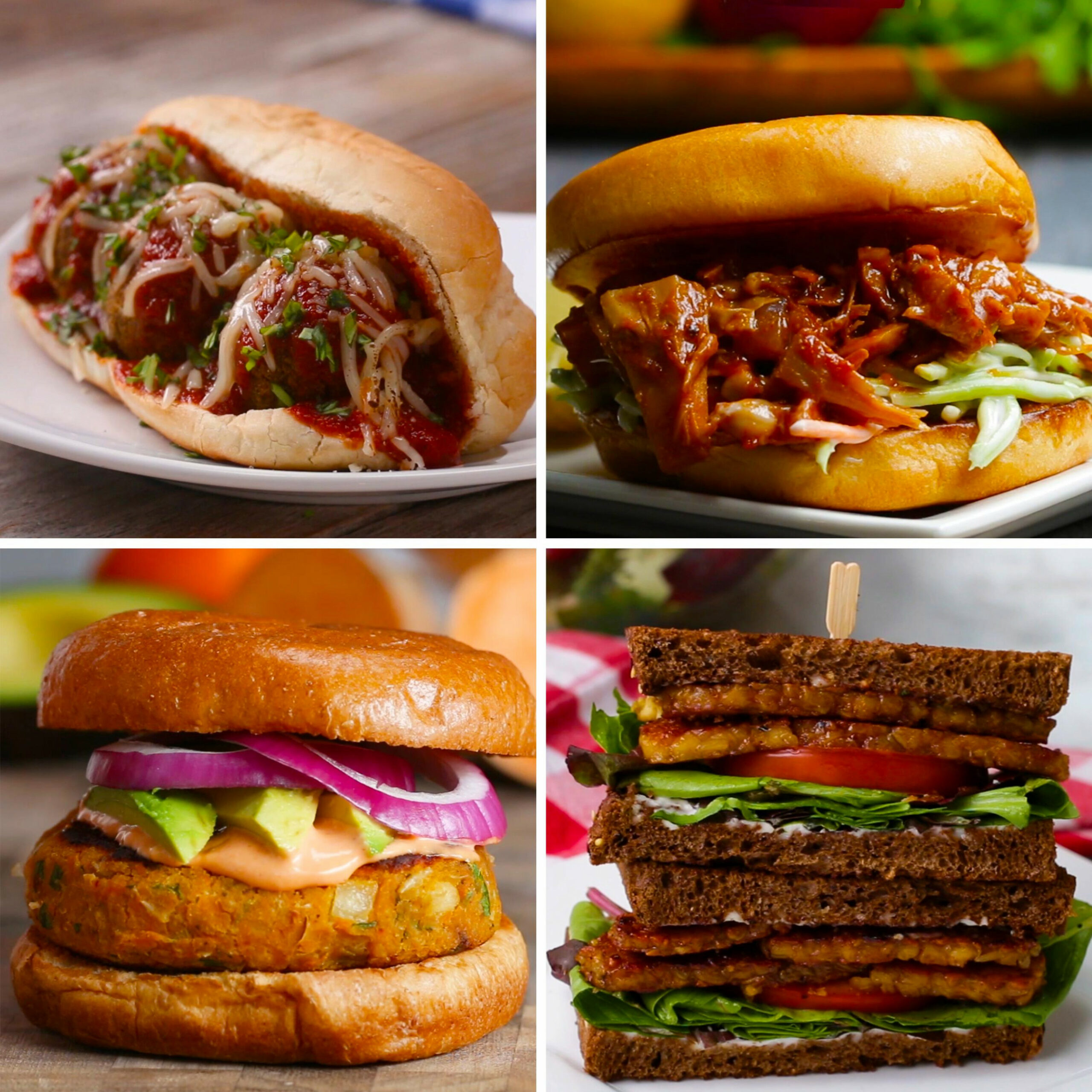 Vegetarian Sandwiches 11 Ways | Recipes - recipes vegetarian sandwiches