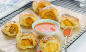 Vegetarian Sausage Rolls, With Squash And Goat's Cheese ..