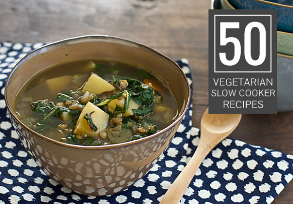 Vegetarian Slow Cooker Recipes | 50 Crockpot Favorites - slow cooker recipes vegetarian