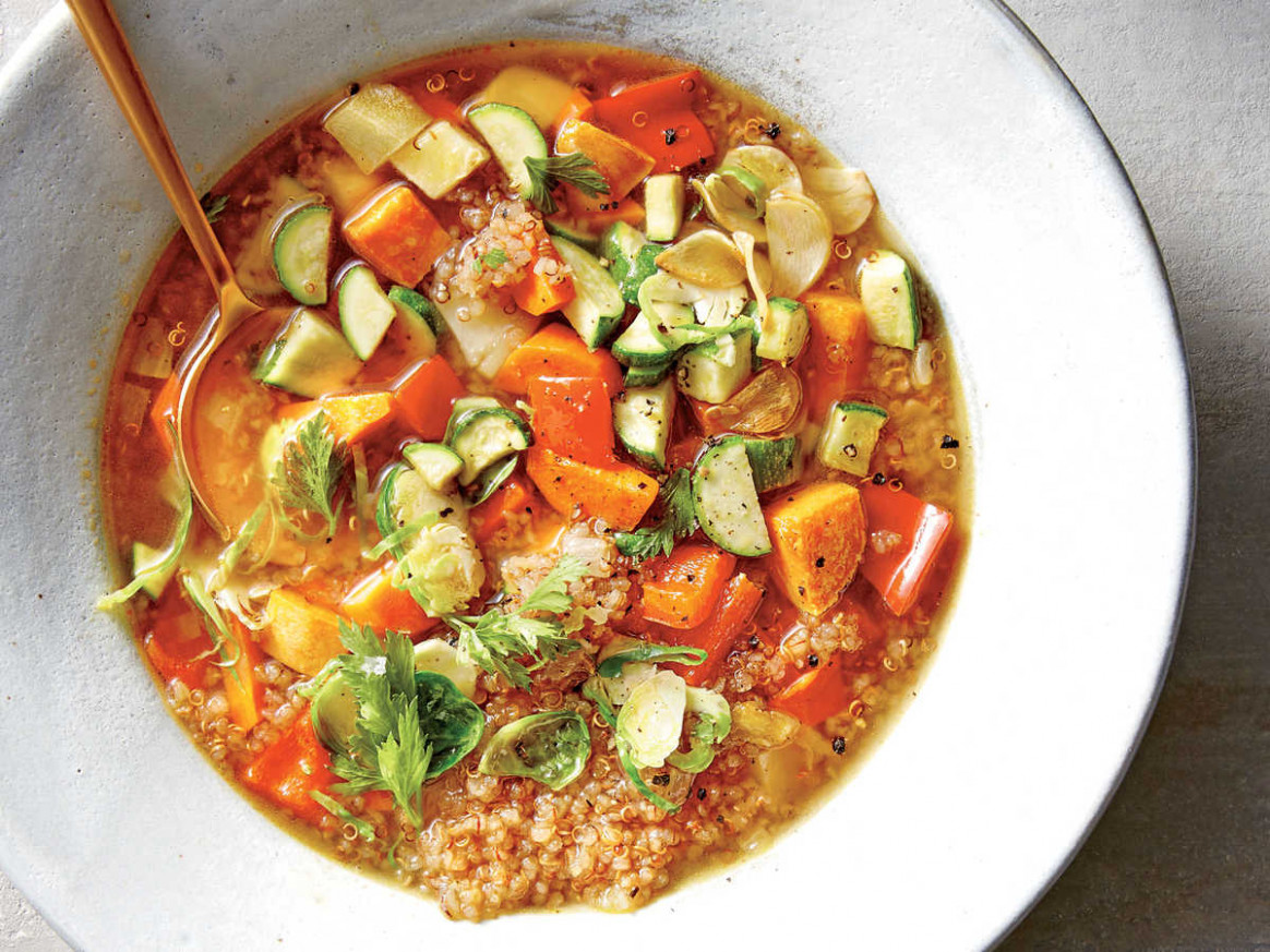 Vegetarian Soups and Stews - Cooking Light - recipes vegetarian soup