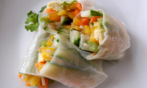 Vegetarian Spring Rolls W/Peanut Sauce | The Perfect Bite – Vegetarian Wraps And Rolls Recipes