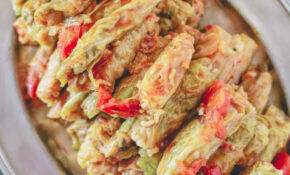 Vegetarian Stuffed Cabbage Rolls – Recipes With Cabbage Vegetarian