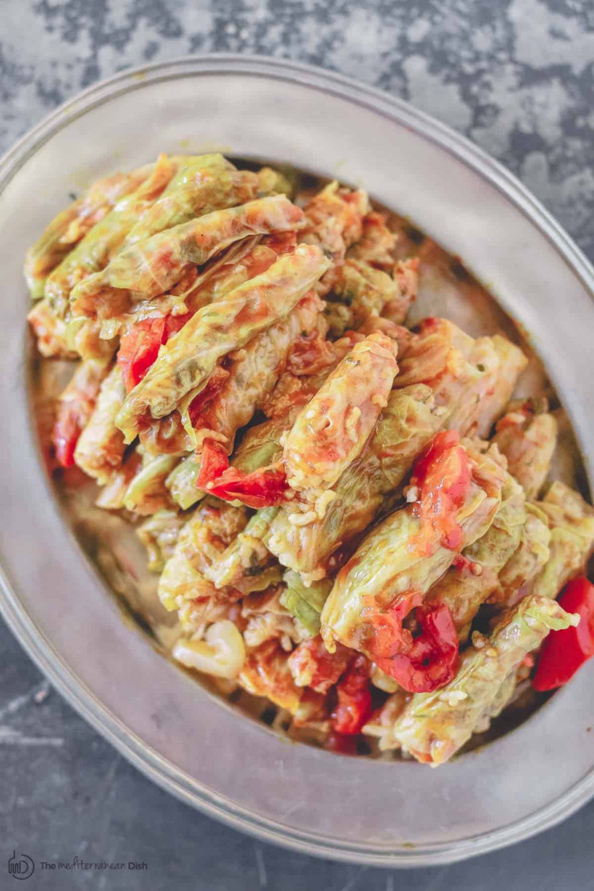 Vegetarian Stuffed Cabbage Rolls - recipes with cabbage vegetarian