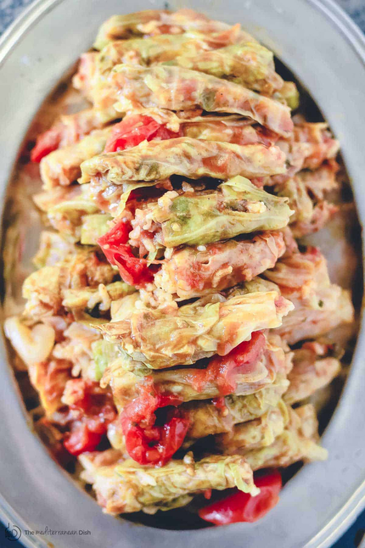 Vegetarian Stuffed Cabbage Rolls | The Mediterranean Dish - recipes cabbage vegetarian
