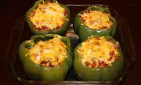 Vegetarian Stuffed Green Peppers – Recipes Stuffed Peppers Vegetarian
