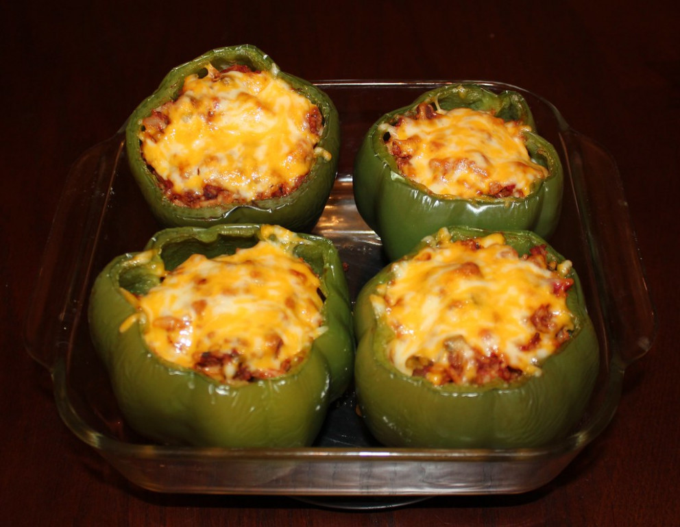 Vegetarian Stuffed Green Peppers - recipes stuffed peppers vegetarian
