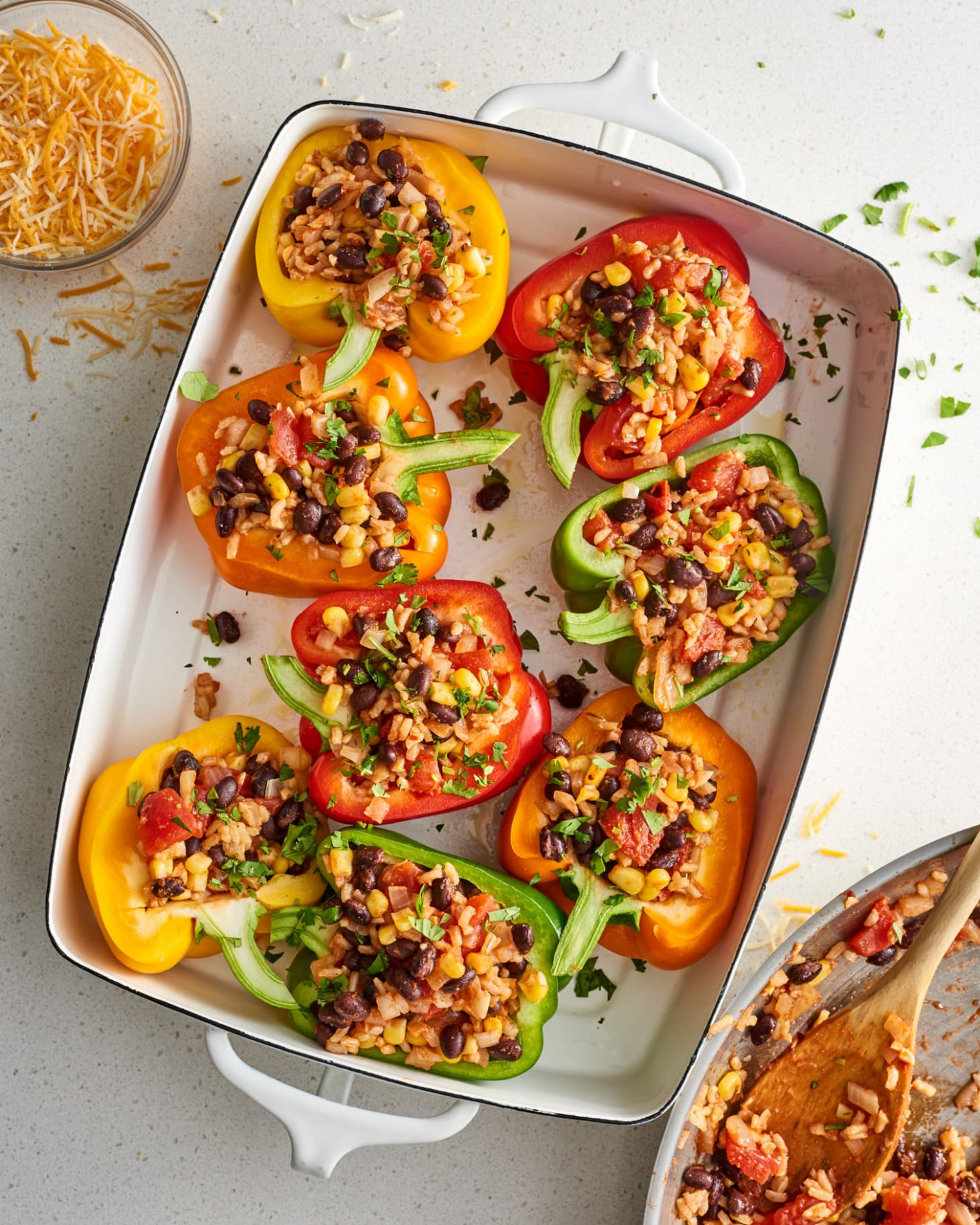 Vegetarian Stuffed Peppers - Recipes That Are Vegetarian