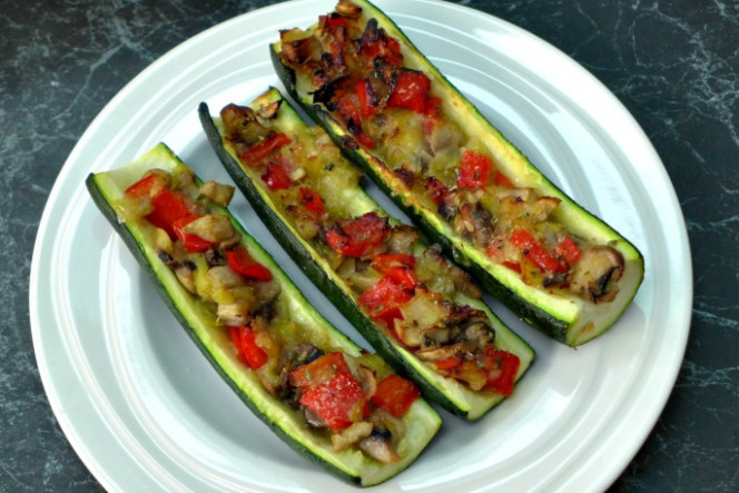 Vegetarian Stuffed Zucchini - Vegetarian Stuffed Zucchini Recipes