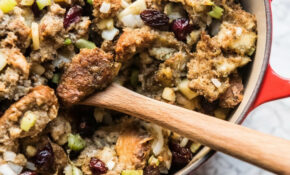 Vegetarian Stuffing Recipe – Thanksgiving Recipes Vegetarian