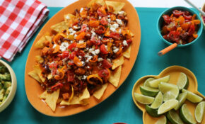 Vegetarian Supreme Nachos – Nachos Recipes Vegetarian