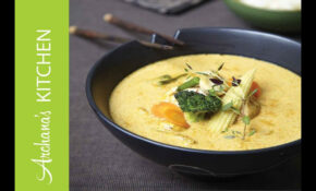 Vegetarian Thai Green Curry Recipe By Archana's Kitchen – Recipe Vegetarian Thai Green Curry