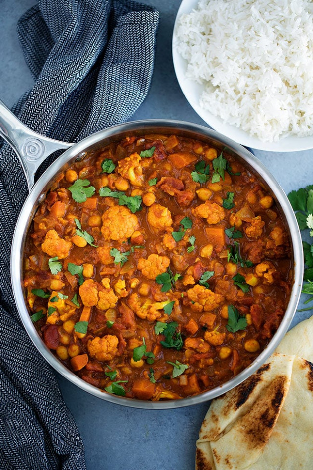 Vegetarian Tikka Masala - Two Peas & Their Pod - dinner recipes indian vegetarian