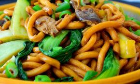 Vegetarian Udon Noodle Recipe With Bok Choy | Cilantro And ..