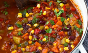 Vegetarian Vegetable Chili