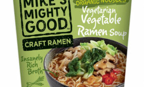 Vegetarian Vegetable Ramen Noodle Soup Cup (14 Pack) – Ramen Recipes Vegetarian
