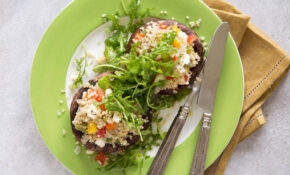 Veggie And Quinoa Stuffed Portobello Mushrooms – Recipes Stuffed Mushrooms Vegetarian